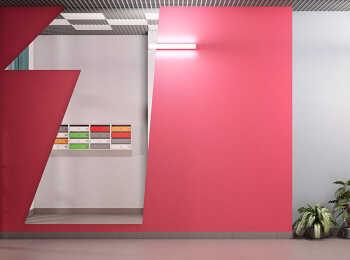 Яркие цветовые решения в оформлении МОПов